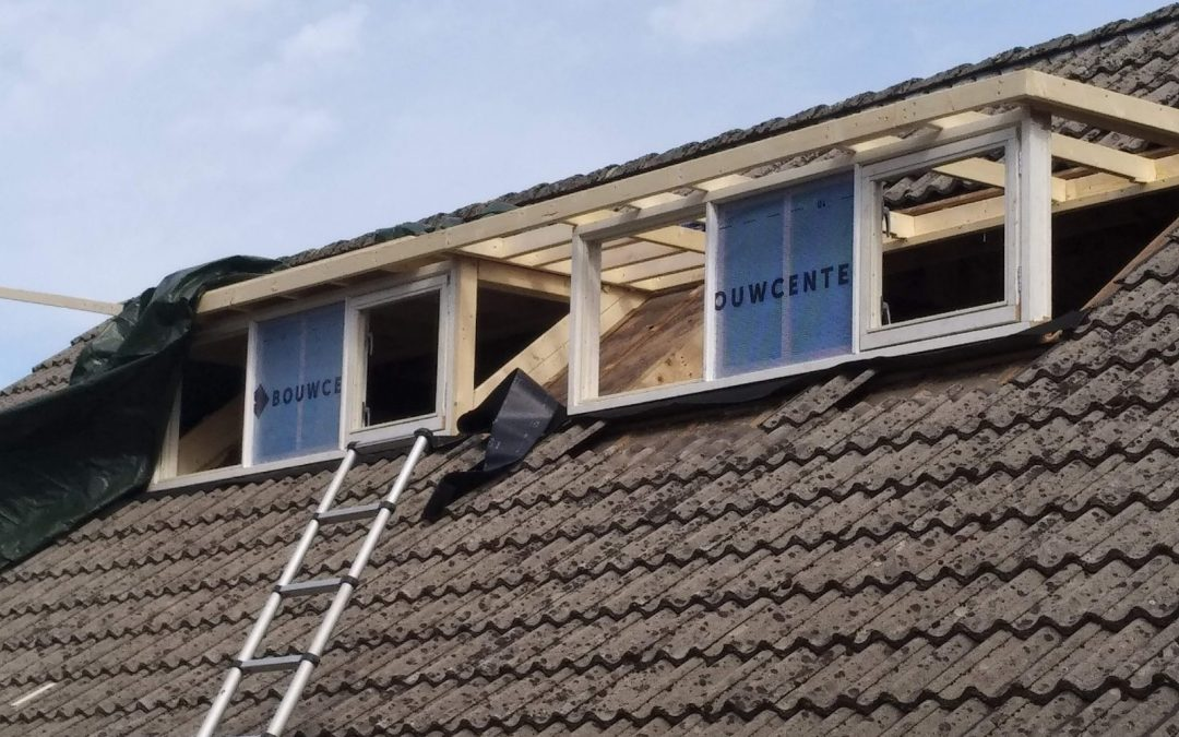 Bouw dubbele dakkapel